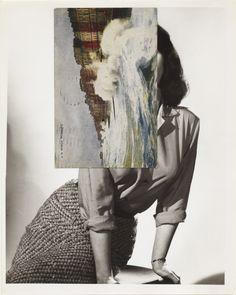 John Stezaker, Siren Song V, collage, 2011.