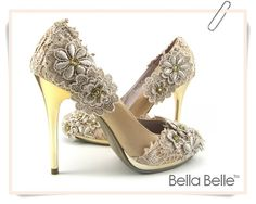 My fantasy shoes! If I didn't already have a broken ankle, I might have been able to wear these!