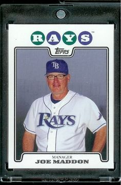 2008 Topps # 473 Joe Madden - Tampa Bay Rays - MLB Baseball Trading Card by Topps. $1.87. 2008 Topps # 473 Joe Madden - Tampa Bay Rays - MLB Baseball Trading Card