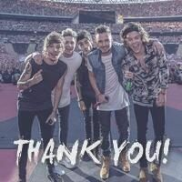 Thank u! I love u very much you're the best thing that has happened in my life and I can't believe it has been 4 years... I Love You Boy's with all my heart.. The boys from the stairs.. Lost the XFactor but Won the World.. Boobear, Hazza, Ni, Daddy direction and Dj Malik WE LOVE U ALL TO THE VERY END >>> write you're name if u want... Hanna Xx>>>