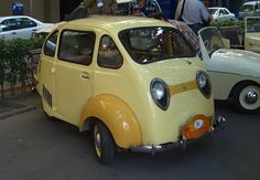 1959 Triver Turismo (Spain) with 399cc flat-Twin Air-Cooled Rear-Mounted Two-Stroke Tipo E.M.B 14Bhp Engine