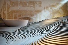 Stonescape showroom, Bologna, Italy by architect Kuma Kengo www.kkaa.co.jp