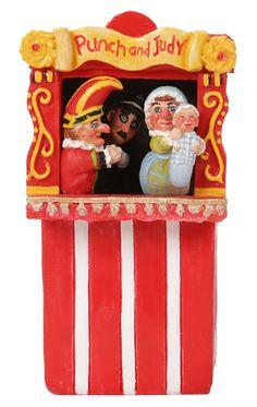 Punch & Judy Show  #Fairy #Garden #Ornament