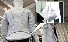 Cycling jacket with removable pocket that turns into a clutch. So smart!