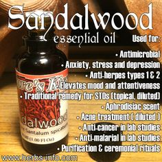 ❤ Essential Oil Of The Day: Sandalwood ❤