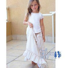 Maxi Skirt & Tee, 6Y SOLD