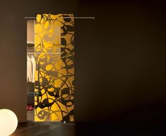 glass doors inside Africa satin stainless steel chime