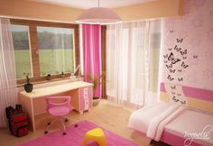 60 Original Children's Bedroom Design Showcasing Vibrant Colors, incorporating wall art with the wall paint