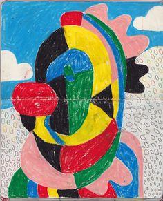 Raving Indian chkny . . . #chicken#portrait#drawing#moleskine#sketchbook#illustration#artist#artwork#art