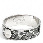 Coach Bangle .. Click here to score some #Free Coach! #Fashion