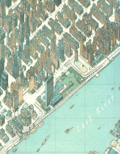 Hermann Bollmann, Map of NYC (1963)