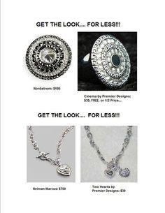 Designer Looks for Less! -Premier Designs Jewelry www.facebook.com/LyshasPieces