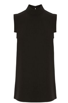 ROLL NECK SL TOP   Black   Oasis Stores