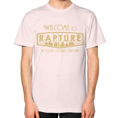 Bioshock Welcome to Rapture Unisex T-Shirt (on man)