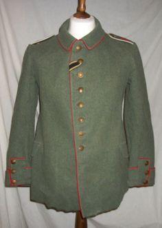 Ww1 imperial german army prussian 1907/10 patt field tunic. 100% original