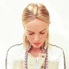 Its all in the detail #braid #middlebraid #blonde #hair #confidentehairsalon #luxe #straighthair #repost