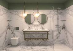 Hotel 3* - Bathroom Bathroom Interior Design, Switzerland, Restaurants, Hotels, Mirror, Furniture, Home Decor, Bathroom Interior, Decoration Home