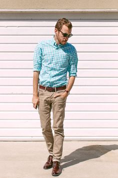 April 8, 2012.  Shirt: J. Crew - $20 (factory) (similar)Pants: H - $20 (similar) Boots: Steve Madden Bristole Chukka - $79 (Foot Locker)Sunglasses: Ray Ban Clubmasters - $115Watch: Timex (Target) - $29Belt: Levis - $10 (Marshall's) (similar)   View on: Lookbook.nu | Chictopia