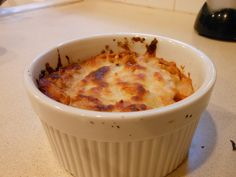 Single Serving Baked Spaghetti