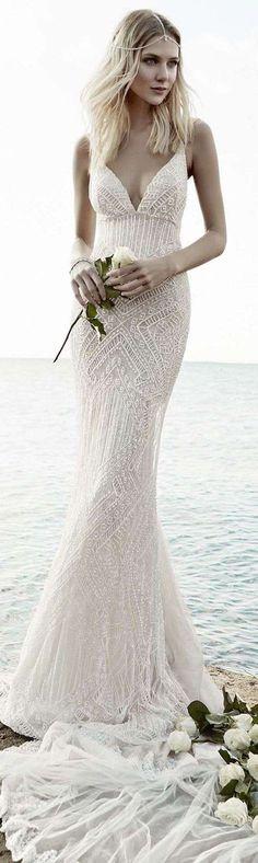 Vestidos de novia 2014: Fotos de diseños sencillos para una boda civil - Vestido de novia de boda civil