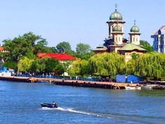 Sulina – Danube's gateway to the Black Sea The Beautiful Country, Beautiful Places, Danube Delta, Danube River, Tourist Places, Black Sea, Black Forest, Romania, Cathedral