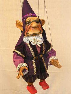 Gnome, dwarf, marionette