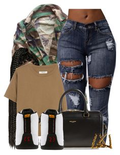 """""""Untitled #606"""" by b-elkstone ❤ liked on Polyvore featuring Madewell, Yves Saint Laurent and TAXI"""