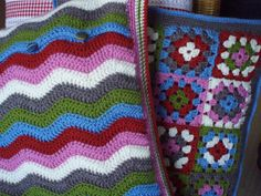 Cushions - it's just all about the colours!