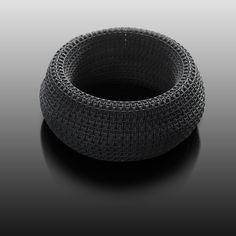 Torus Bracelet for DFTS Factory // 3d printed