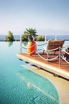 Gorgeous!  Kempinski Hotel Barbaros Bay Bodrum Infinity Pool