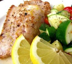 Red Snapper & Zucchini | Simple Dish | Quick, Easy, & Healthy Recipes for Dinner