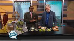 Jim Hagy, from Chef's Market Catering & Restaurant, prepared their Curried Chicken Salad recipe.