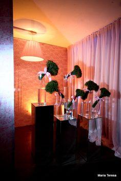 bouquet  com laços para receber uma entrada elegante