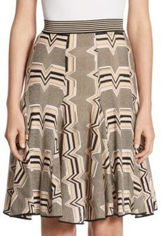 Missoni Wool Flare Skirt