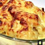 Bacon Cauliflower Cheesy Bake