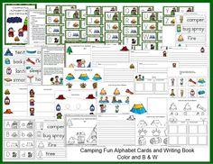 I have added Camping Fun Alphabet Cards and Writing book to 1 - 2- 3 Learn Curriculum. To learn how to become a member  ($30. a year for in home child care or $55. a year for centers) or to check out free downloads, please click on the picture. 1 -2 - 3 Learn Curriculum was developed by a fellow child care provider of 30 years. Thank you! Jean
