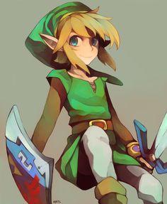 Link, The Legend of Zelda artwork by Redrice Wine.