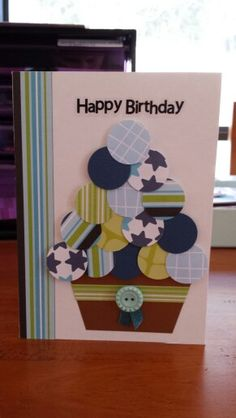 My 2nd self made card - for Dad's birthday