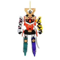 Power Ranger Zoid Ornament | Ornament and Christmas ornament