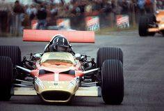 Lotus 49B Cosworth - Graham Hill in Zandvoort 1969