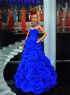 Miss St. Martin 2013/2014 - International Pageant Collection - NiniMomo Doll