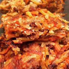 Carrot Hashbrowns