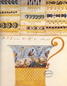 design drawing c1800 for Sevres porcelain