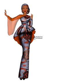 African Dress Patterns, African Wear Dresses, African Fashion Ankara, Latest African Fashion Dresses, African Print Fashion, Africa Fashion, African Attire, Latest Ankara Gown, Ankara Gown Styles