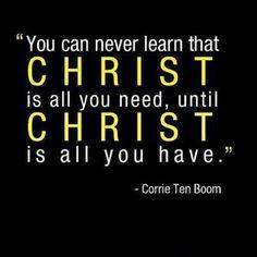 - Corrie Ten Boom More at http://ibibleverses.com