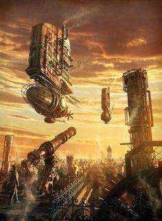 Futuristic Sci-fI City  Gemini - Dmitriy Filippov