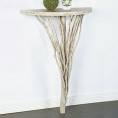 Branches Wall Console Table - Cachet Decor on Joss & Main