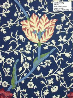 Historic Style - Garden Tulip by William Morris $179
