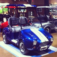 Shelby Cobra Golf Carts
