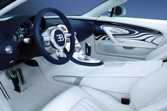 Bugatti Veyron Grand Sport L'Or Blanc-Interior is Amazing too!!